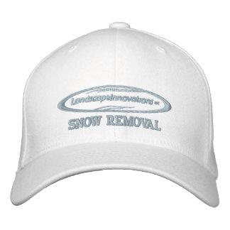 Gorra bordado retirada de la nieve de las innovaci gorras bordadas