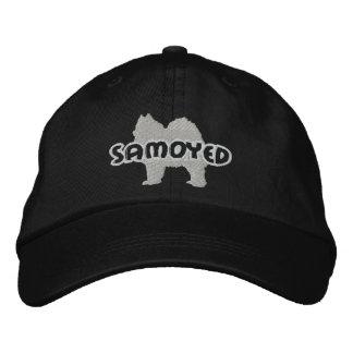 Gorra bordado samoyedo de la silueta gorra de béisbol bordada
