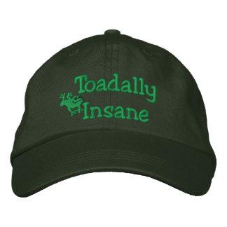 Gorra bordado sapo divertido gorra de béisbol