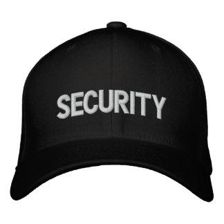 Gorra bordado seguridad gorra de beisbol bordada
