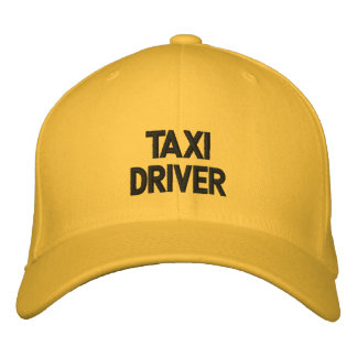 Gorra bordado taxista gorras de beisbol bordadas