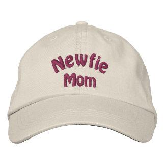 Gorra bordado Terranova de la mamá de Newfie Gorra De Béisbol