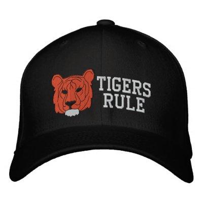 Gorra bordado tigre gorra de béisbol bordada