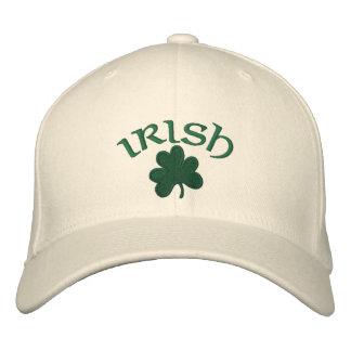 Gorra bordado trébol Gorra-Irlandés Gorras De Béisbol Bordadas