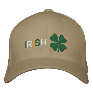 Gorra bordado trébol irlandés gorra de béisbol