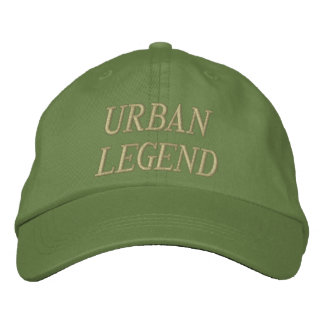 Gorra bordado urban legend gorra de beisbol