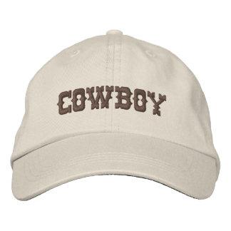 Gorra bordado vaquero gorra bordada