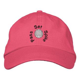 Gorra bordado voleibol gorra de beisbol