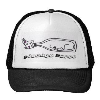 Gorra borracho del gatito