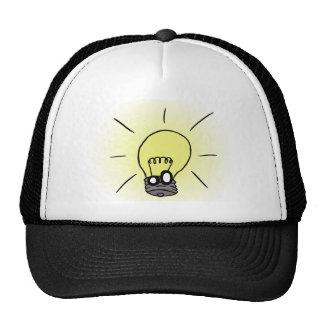 Gorra brillante de la idea