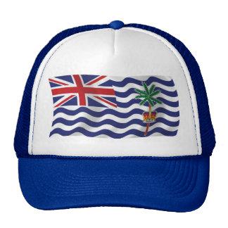 Gorra británico de la bandera del Océano Índico