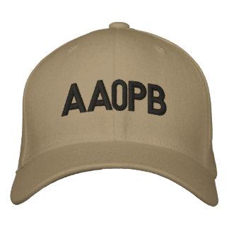 Gorra cabido con el indicativo gorra de beisbol
