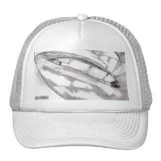Gorra caliente de los labios