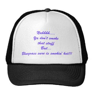 Gorra caliente del Bluegrass de Smokin