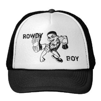 Gorra camorrista del muchacho