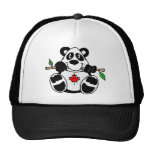 Gorra canadiense de la panda