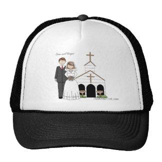 Gorra caprichoso del boda