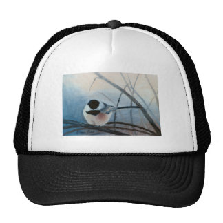 Gorra capsulado negro del Chickadee