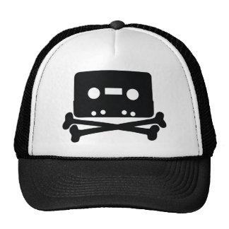 Gorra casero del logotipo que graba
