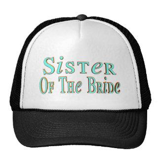 Gorra/casquillo de la hermana de las novias gorras