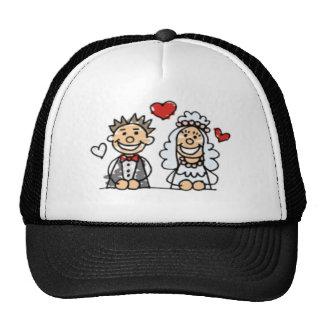 Gorra/casquillo del boda gorras