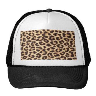Gorra/casquillo del camionero del estampado leopar gorras