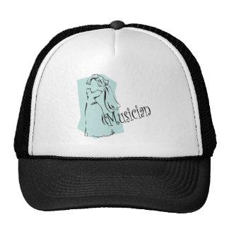Gorra/casquillo del músico del boda gorros