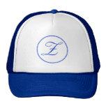 Gorra/casquillo/gorra de béisbol de la letra Z del