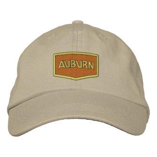 Gorra castaño del logotipo gorro bordado