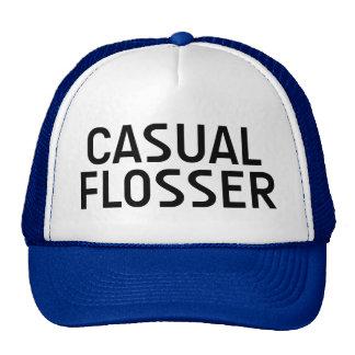 Gorra CASUAL del lema de la diversión de FLOSSER