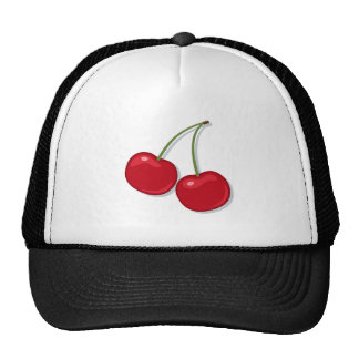 Gorra: Cerezas maduras rojas Gorras De Camionero