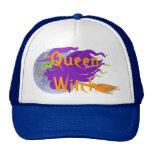 Gorra clásico de la bruja de la bruja de la reina