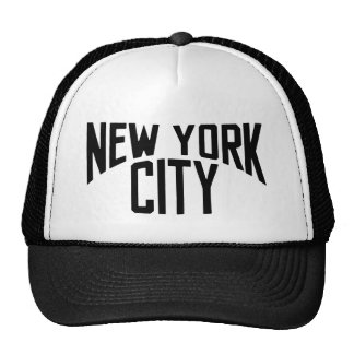 Gorra clásico de los camioneros del vintage de New