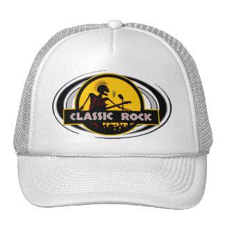Gorra clásico del camionero de la roca