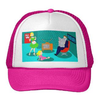 gorra clásico del camionero de la televisión de