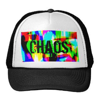 Gorra, color extremo Chaos.JPG del casquillo Gorros