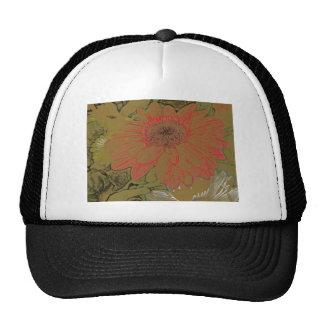 Gorra colorido de las margaritas