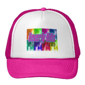 "Gorra colorido de las palmas de ""Beverly Hills"""