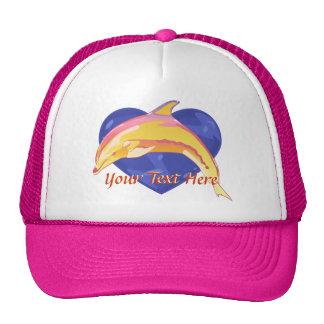 Gorra colorido del delfín