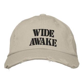 Gorra completamente despierto gorra de béisbol bordada