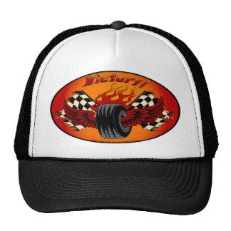 Gorra con alas del camionero de la victoria