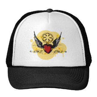 Gorra con alas del corazón