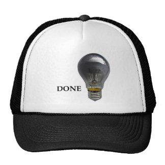 Gorra con apagado un bulbo