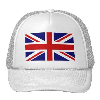 Gorra con la bandera británica del Union Jack