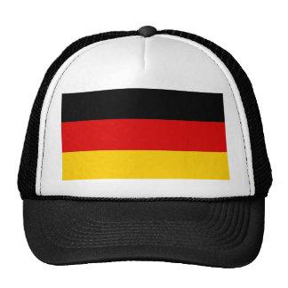 Gorra con la bandera de Alemania