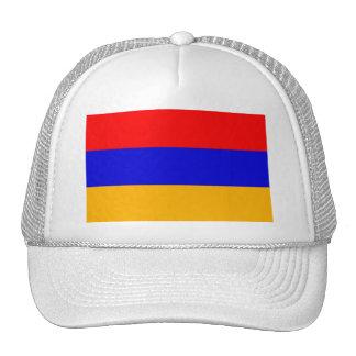 Gorra con la bandera de Armenia