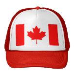 Gorra con la bandera de Canadá