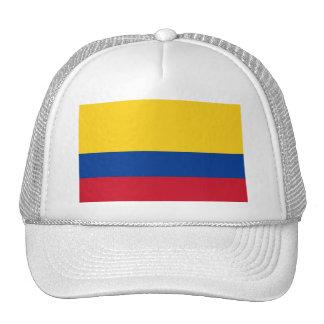 Gorra con la bandera de Colombia