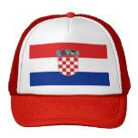 Gorra con la bandera de Croacia