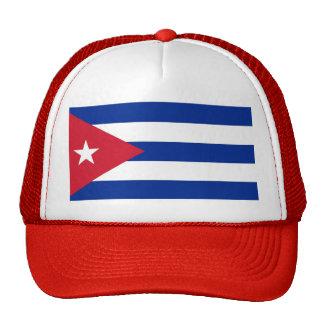 Gorra con la bandera de Cuba